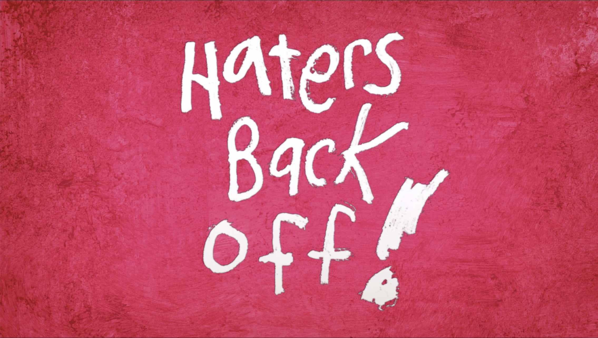 haters back off doppiaggio